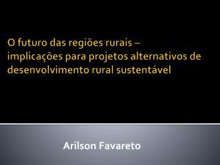 Arilson Favareto