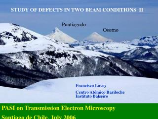 STUDY OF DEFECTS IN TWO BEAM CONDITIONS  II