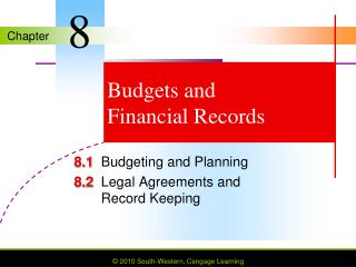 Budgets and Financial Records