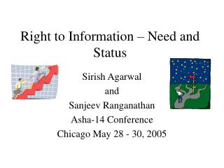 Right to Information – Need and Status