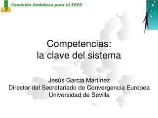 Competencias: la clave del sistema