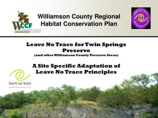 Williamson County Regional Habitat Conservation Plan