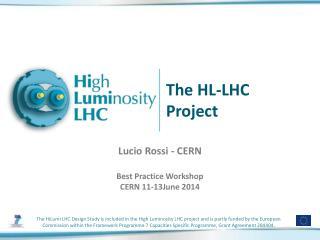 The HL-LHC Project