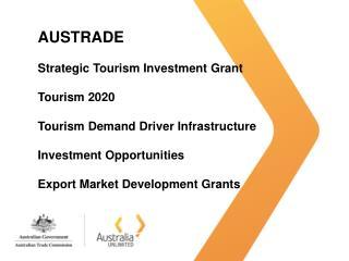 Strategic Tourism Investment Grant 2012-2014