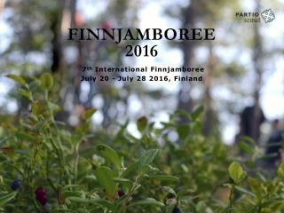 FINNJAMBOREE 2016
