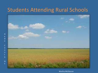 Students Attending Rural Schools