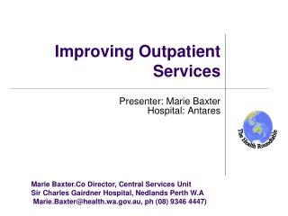 Improving Outpatient Services