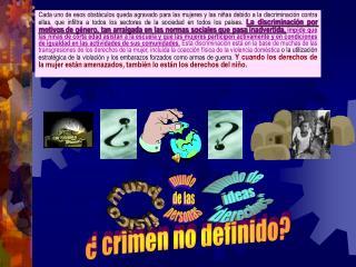 ¿ crimen no definido?