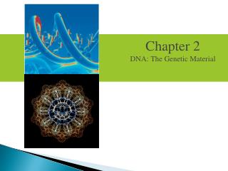 Chapter 2 DNA: The Genetic Material