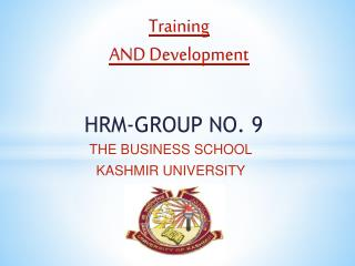 HRM-GROUP NO. 9