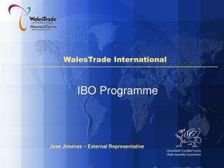 Kevin Davies International Trade Counsellor South East Wales