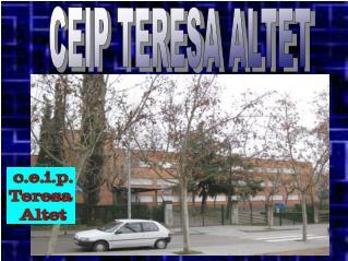 CEIP TERESA ALTET
