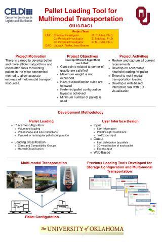 Pallet Loading Tool for Multimodal Transportation