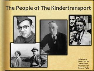 The People of The Kindertransport