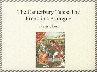 The Canterbury Tales: The Franklin's Prologue
