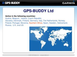 GPS-BUDDY Ltd