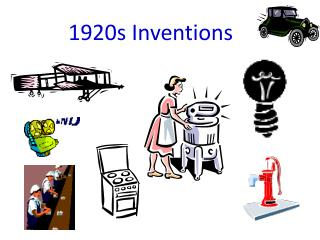 1920s Inventions