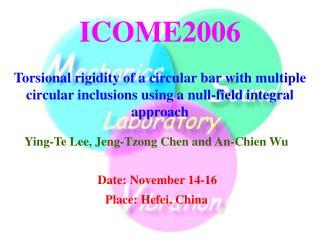 ICOME2006