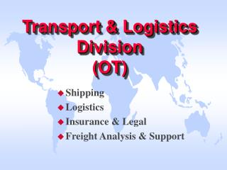 Transport & Logistics Division (OT)