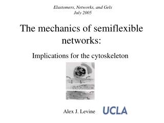 The mechanics of semiflexible networks: