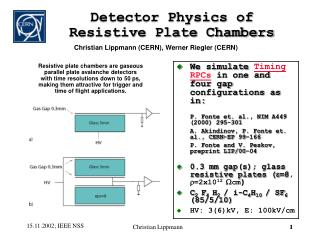 Detector Physics of Resistive Plate Chambers