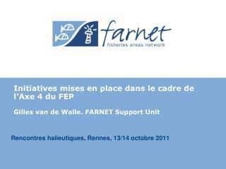 Rencontres halieutiques, Rennes, 13/14 octobre 2011