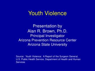 Youth Violence