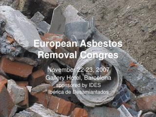 European Asbestos Removal Congres