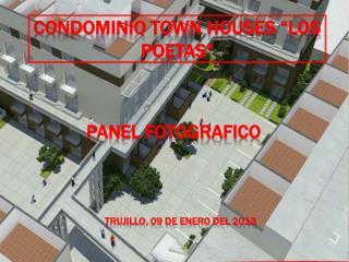 """CONDOMINIO TOWN HOUSES """"LOS POETAS"""""""