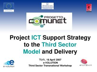 Project  ICT  Support Strategy to the  Third Sector Model  and Delivery