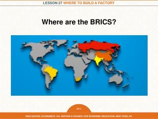 Where are the BRICS?