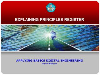 EXPLAINING PRINCIPLES REGISTER