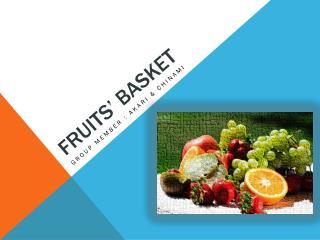 Fruits' basket