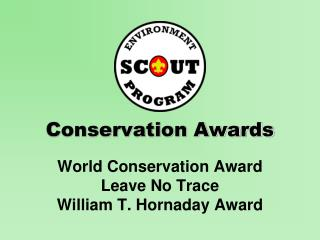 Conservation Awards
