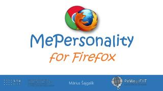 MePersonality for Firefox