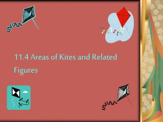 11.4 Areas of Kites and Related Figures