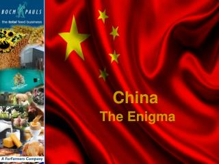 China The Enigma