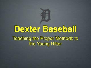 Dexter Baseball