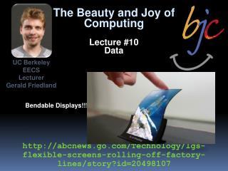 Bendable Displays!!!