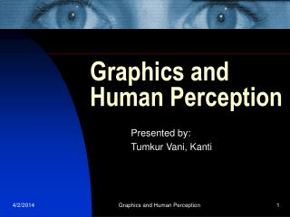 Graphics and Human Perception
