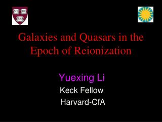 Galaxies and Quasars in the Epoch of Reionization