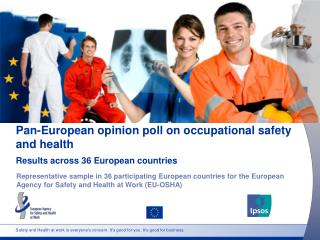 Safety and Health at work is everyone's concern. It's good for you. It's good for business.