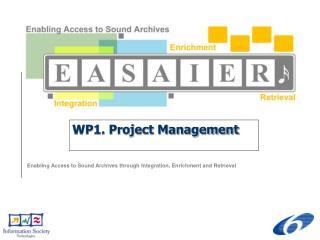 WP1. Project Management