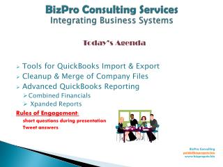 BizPro Consulting Services Integrating Business Systems