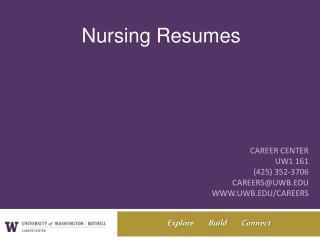 Career Center UW1 161 (425) 352-3706 careers@uwb uwb/careers