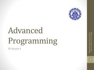 Advanced Programming