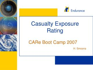 Casualty Exposure Rating