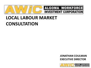 Local labour Market Consultation