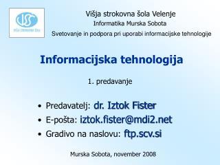 Informacijska tehnologija