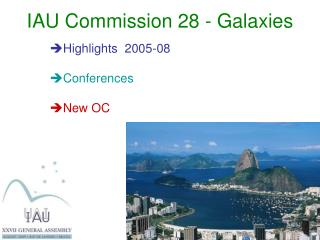 IAU Commission 28 - Galaxies